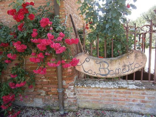 La Bandita Hotel Siena: entrada