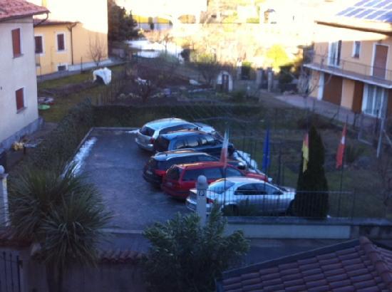 Cannobio, Italy: il parcheggio