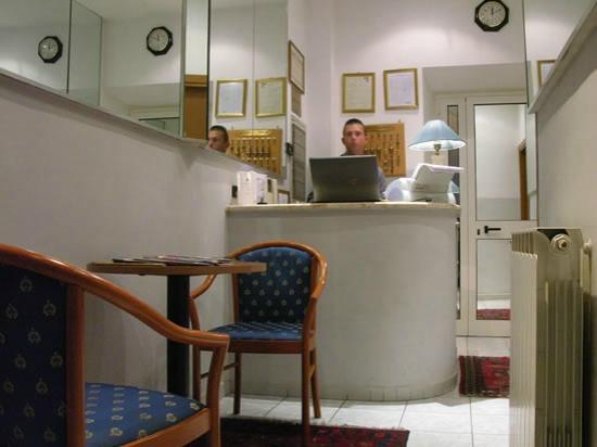 Hotel Ginevra: Reception