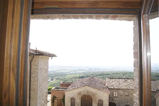 Castello La Leccia: view