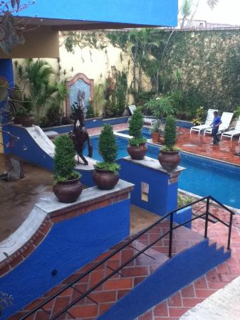 La Villa del Ensueno Hotel: Incredible pool, we felt like we were in a villa in Italy