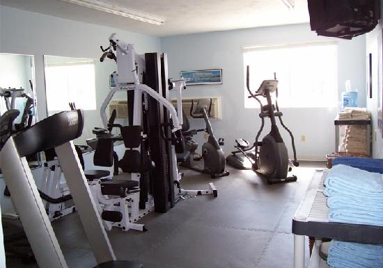 Riverview Resort on Cape Cod : Fitness center at Riverview Resort