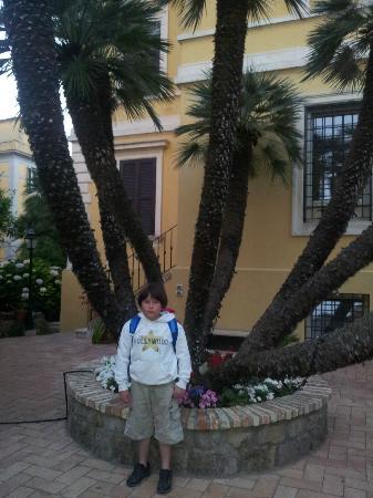 Villa Paganini B&B: Jardin de la casa