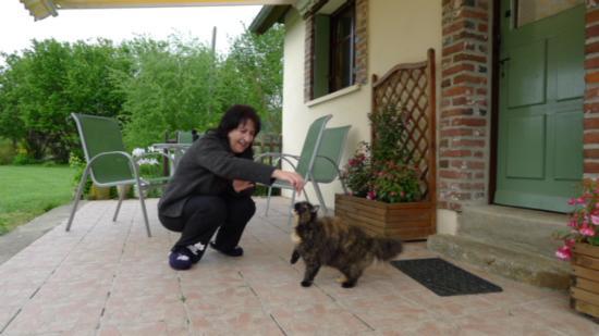 Broglie, Francia: Our guest)))