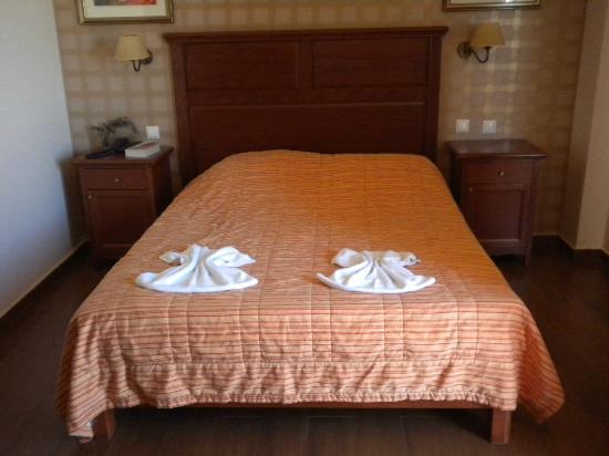 SENTIDO Vasia Resort & Spa: kamergedeelte
