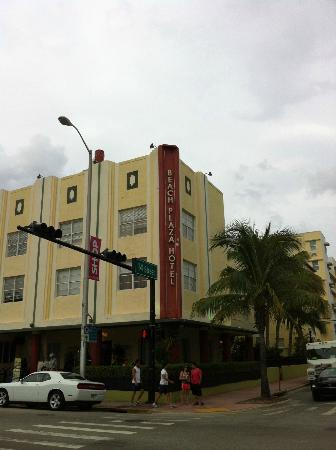 The Beach Plaza Hotel: Foto albergo da fuori