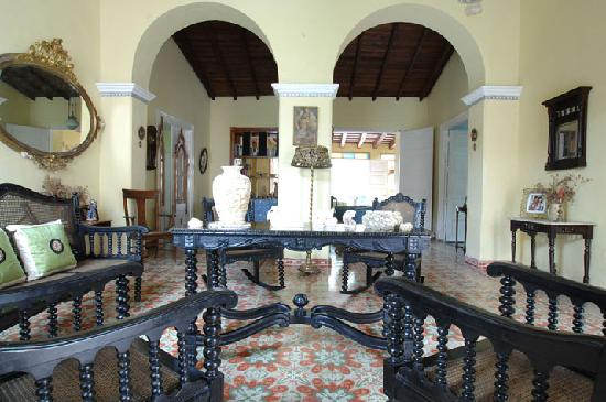 Hostal Maria y Enddy: Living room