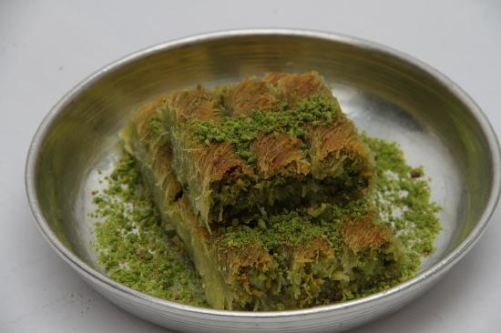 Gulluoglu : Kadayıf with cream