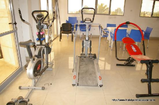 Yombe Palace Hotel : Fitness view