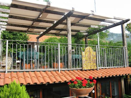 Agriturismo La Casa Del Ghiro: balconata