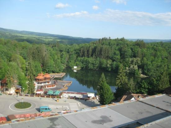 Sovata, Romania: View from room