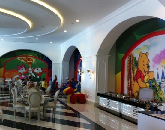 Delphin Imperial Hotel Lara: Kids restaurant