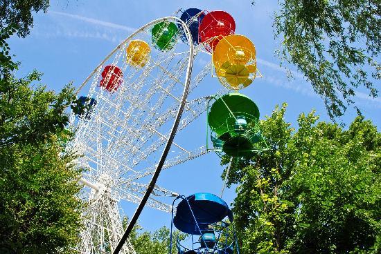 The Solnechny Ostrov (Sunny Island) Park: С колеса обозрения виден весь Солнечный остров