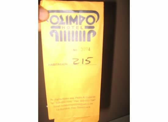 Olimpo Hotel: Room