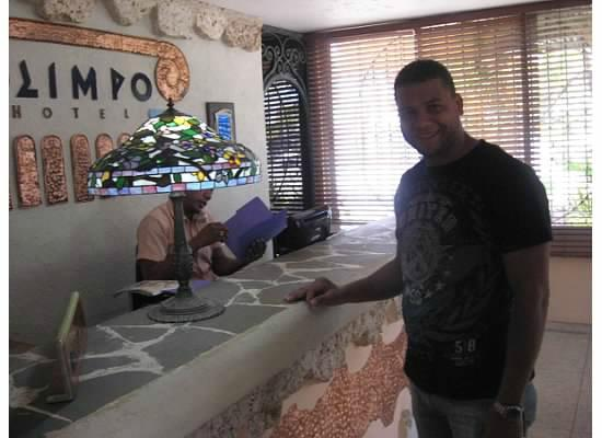 Olimpo Hotel: Lobby area