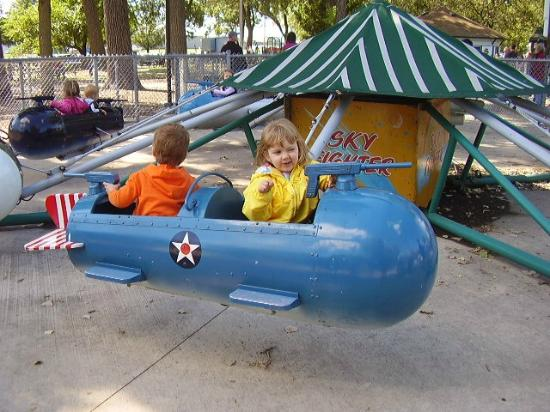 Green Bay, WI: Fighter Pilots kids ride