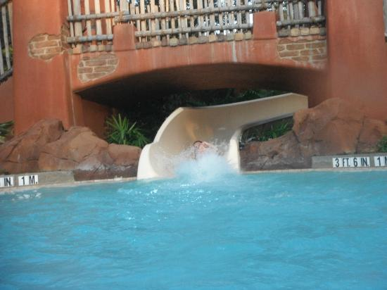 Disney's Animal Kingdom Villas - Kidani Village: Pool slide