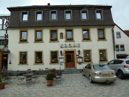 Hotel Krone: Mooi vooraanzicht