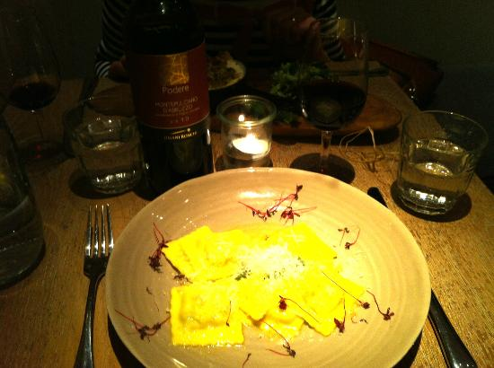 Machiavelli Kitchen Dining Room Ravioli Special At The