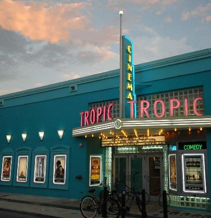 Movie time at Tropic Cinema