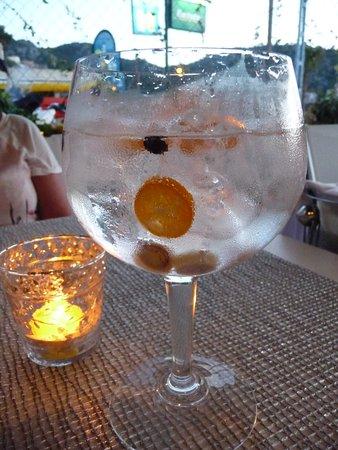 Nunu Restaurant: Gin!  The best!