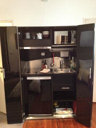 Kitchen in a wardrobe at L\'Hotel Particulier, Bordeaux - Picture of ...