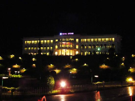 Brindavan Garden: Royal Orchid view from the gardens