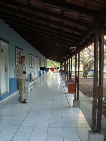 Pousada Rio Claro: outside the rooms