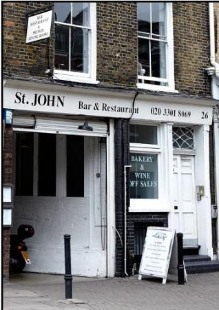 St. John Bread and Wine