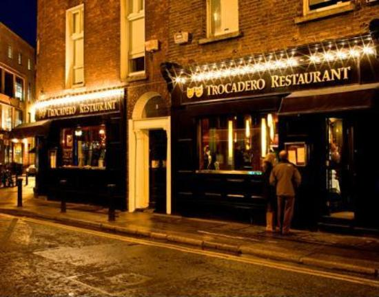 One Of The Good Restaurants In Dublin Traveller Reviews Trocadero Tripadvisor