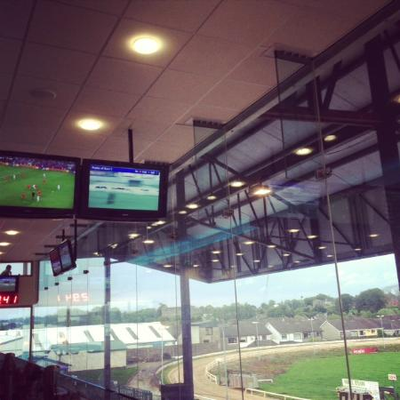 Kilcohan Park Greyhound Stadium: upstairs