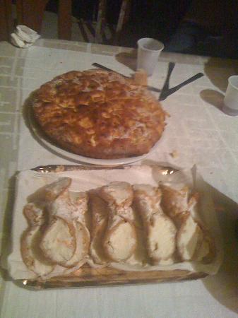 Casa Vacanza Donna Carmela: Excellents desserts