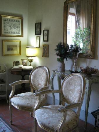 Relais Cavalcanti: sitting room