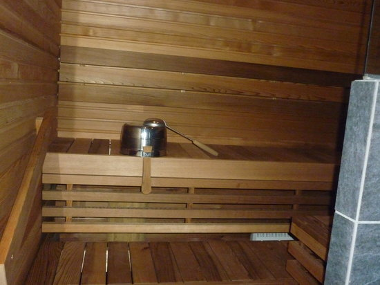Levi Hotel Spa: Sauna in our room