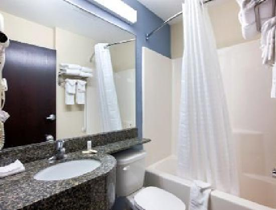 Microtel Inn & Suites by Wyndham Belle Chasse/New Orleans: Bathroom