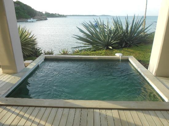 La petite piscine privee et sa vue exceptionnelle photo Piscine la petite amazonie