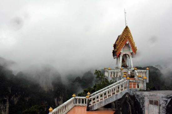 Tiger Cave Temple (Wat Tham Suea) : A view from the top