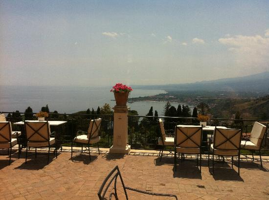 Belmond Grand Hotel Timeo: View from the terrace