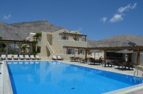 Thera Mare Hotel: Pool