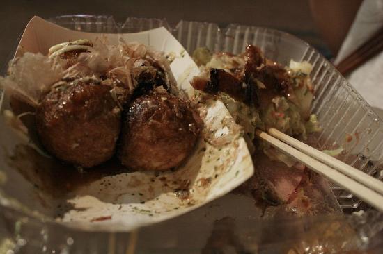 Otafuku: Takoyaki and okonomiyaki
