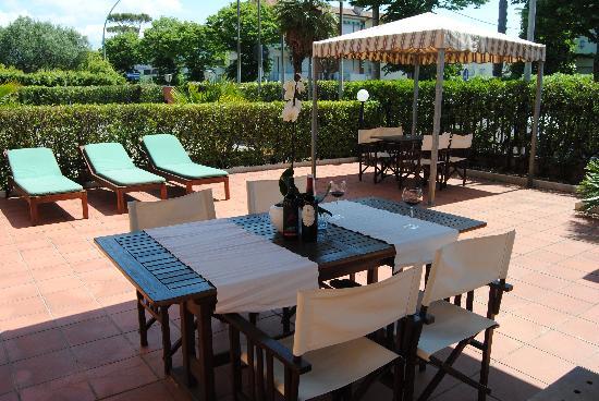 Hotel Liu: giardino