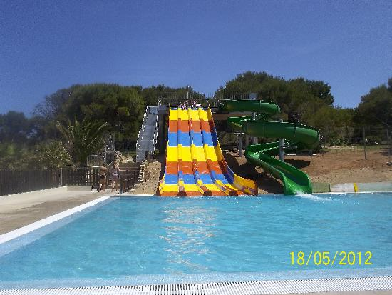 New Waterslides 2 Picture Of Club Hotel Aguamarina