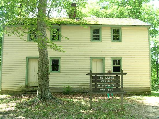 Standing Stone State Park: Moses Fisk's Place, Front of the house