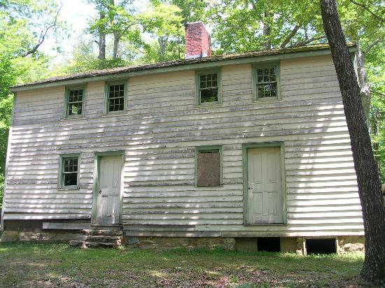 Standing Stone : Moses Fisk's Place, Back of the house