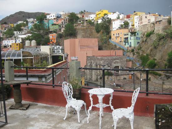 Hostal del Campanero: Rooftop terrace