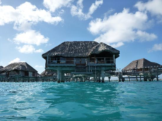 Four Seasons Resort Bora Bora: From the Lagoon