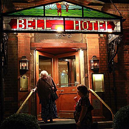 The Bell Hotel: The Entrance