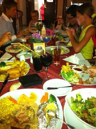 Olive Tree Restaurant: food