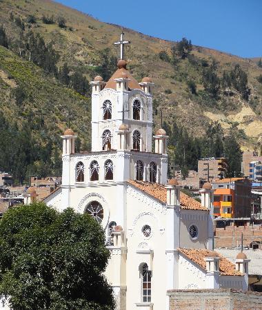 Iglesia La Soledad : seen from Churup Guesthouse