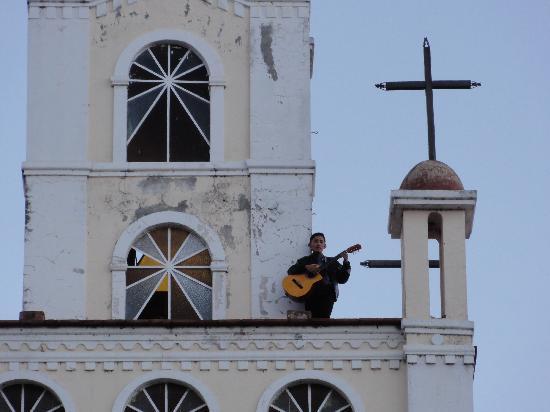 Iglesia La Soledad : close up